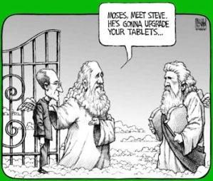 Steve Jobs s'est enfin mis au vert