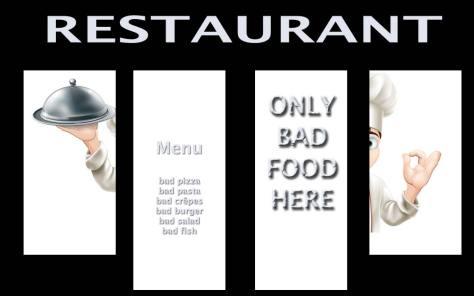 Imaginez une seconde que ces avis soient affichés sur la porte du restaurant à la place des stickers du Petit Futé ou du Guide du Routard. C'est exactement ce qu'il se passe sur le web.