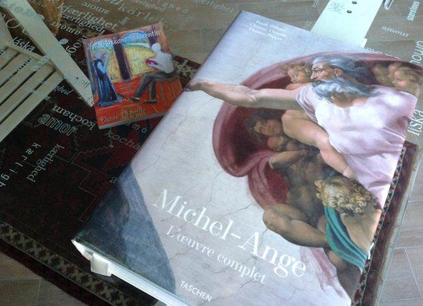 Face à l'œuvre de Michel-Ange, je me sens petit forcément, mais j'en subis aussi l'influence.