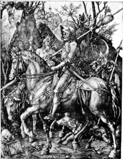 1513 metal engraving by Albrecht Duerer