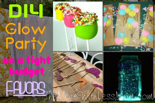 Glow Party Teen Birthday Favors
