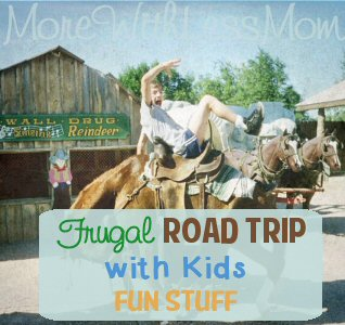Frugal Road Trip with Kids – Fun Stuff