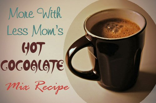 Hot Cocoalate Mix Recipe