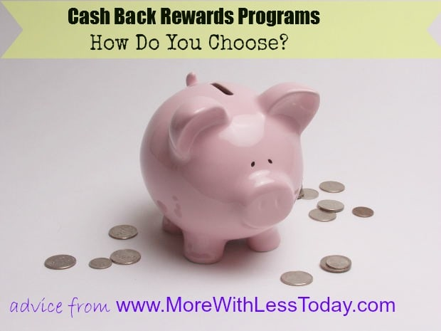 comparing cash back rewards programs