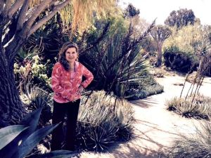 hiking at Fullerton Arboretum