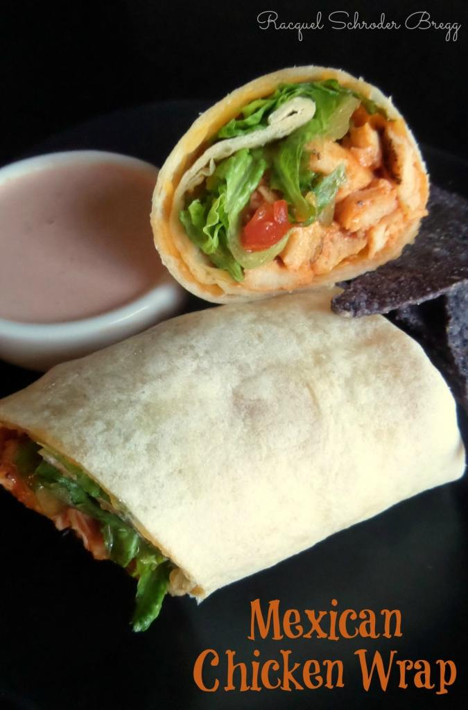 Mexican Chicken Wraps - Chicken Wrap Ideas and Recipes, Chicken Wraps for Lunch - Easy Chicken Wraps - Healthy Chicken Wraps - Inexpensive Lunch Wraps