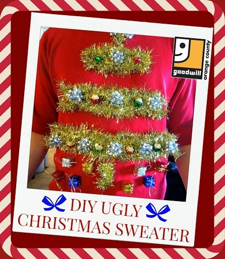 Goodwill Ugly Christmas sweater