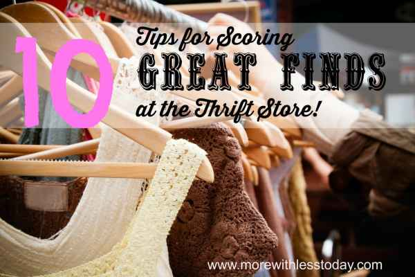 10 tips for thrift store shoppers, best deals thrift stores, how to shop for designer clothing at thrift stores, favorite thrift store deals, Goodwill tips