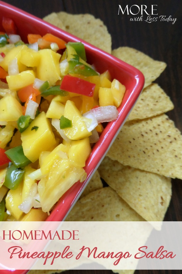 Homemade Pineapple Mango Salsa Recipe