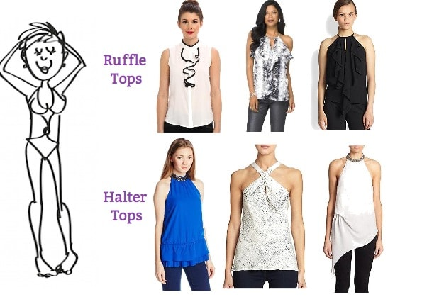 dressing for your body type-rectangle shaped body type clothes-how to dress for a rectangle shaped figure-picks for those with rectangle shape
