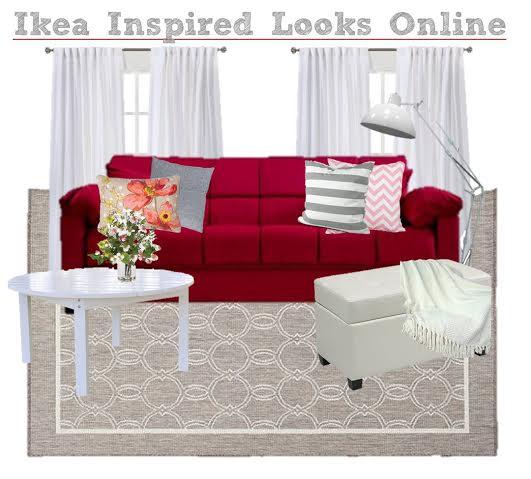 Ikea inspired decor, living room decor Ikea style, get the look of IKEA, copycat IKEA furniture, modern furniture like IKEA, decorate like IKEA