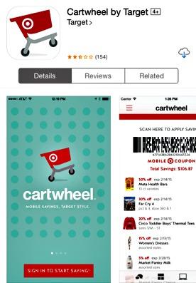 Target Cartwheel APP free