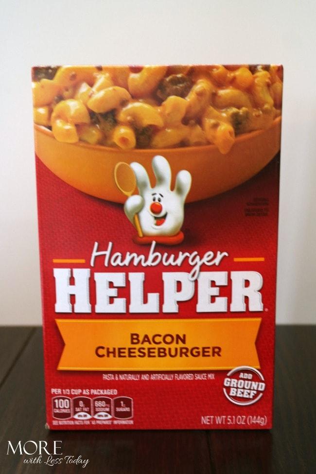 Hamburger Helper® Bacon Cheeseburger Fritters