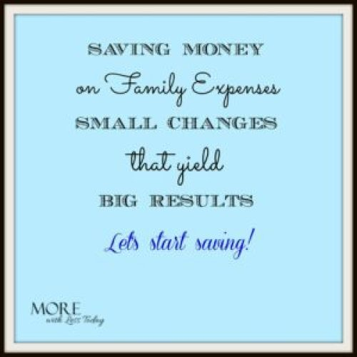 ways to save money on family expenses, tips for spending less, budgeting tips, Giving Assistant, ways to save and give, cash back site Giving Assistant