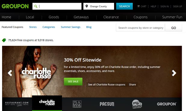 charlotte russe groupon coupons