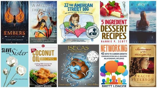 10 Free Kindle Books 8-3-15