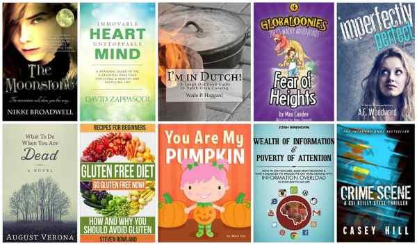 10 Free Kindle Books 9-1-15