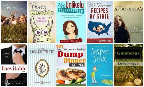 10 Free Kindle Books 10-3-15