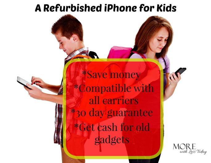 buy a refurbished iPhone for kids, 30 day guarantee on used cell phones, where to buy a certified refurbished iPhone, get cash for old iPhones, Gazelle phone