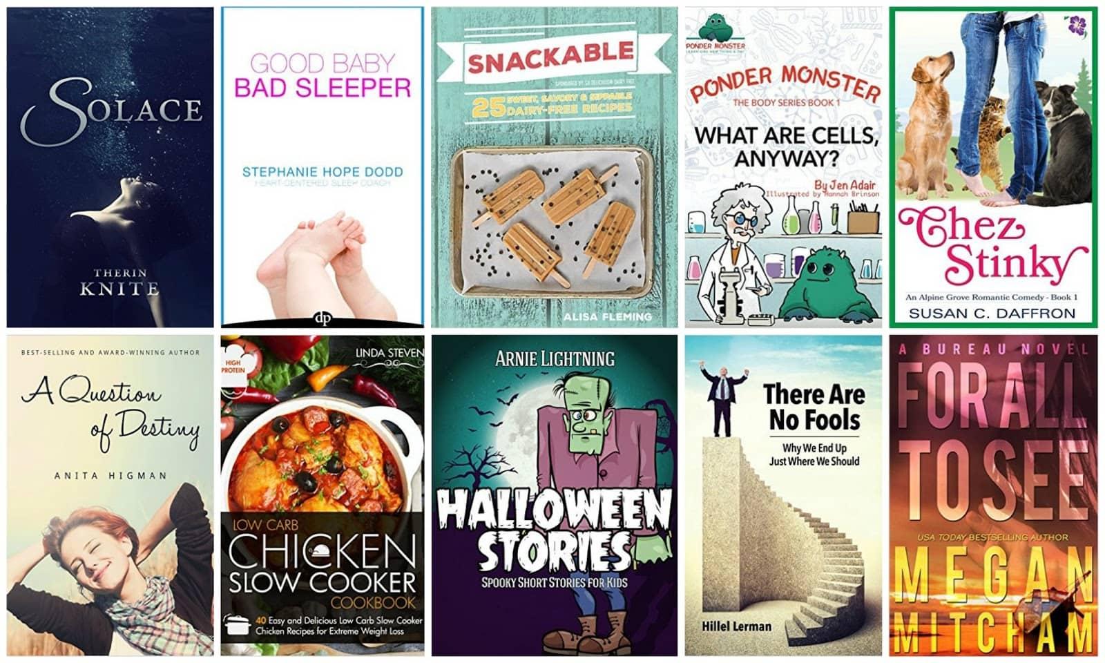 10 Free Kindle Books 10-7-15