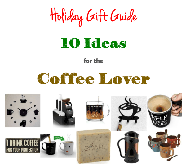 inexpensive gift ideas for coffee lovers, gifts for coffee drinkers, gifts for adults under $20, gifts for co-workers, coffee drinkers gifts, More With Less