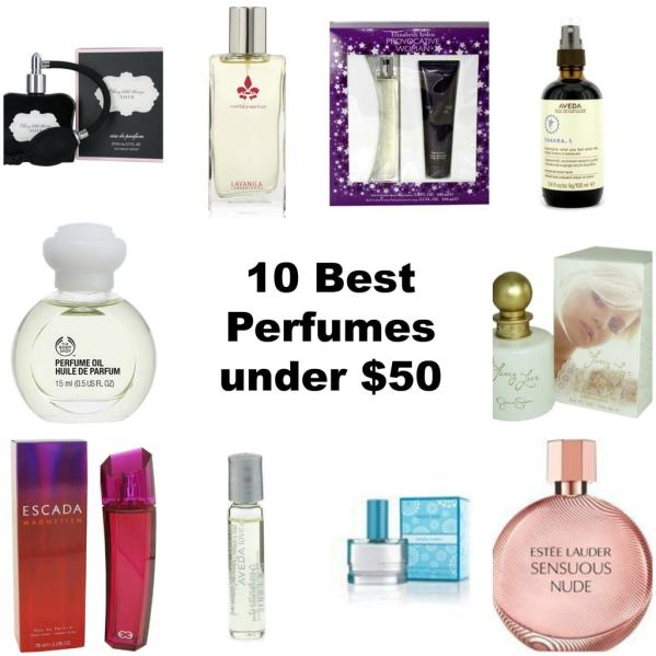 10 best perfumes under $50, top rated perfumes, fragrance gifts, gifts for women under $50, top perfumes on Amazon.com