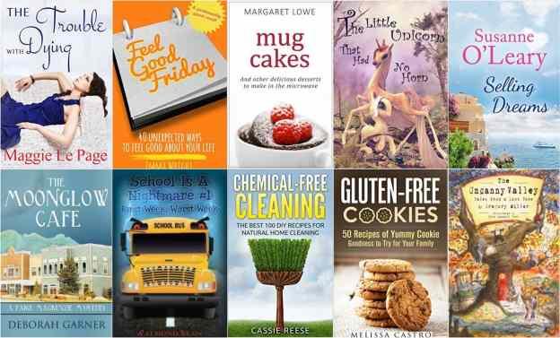 10 Free Kindle Books 2-8-16