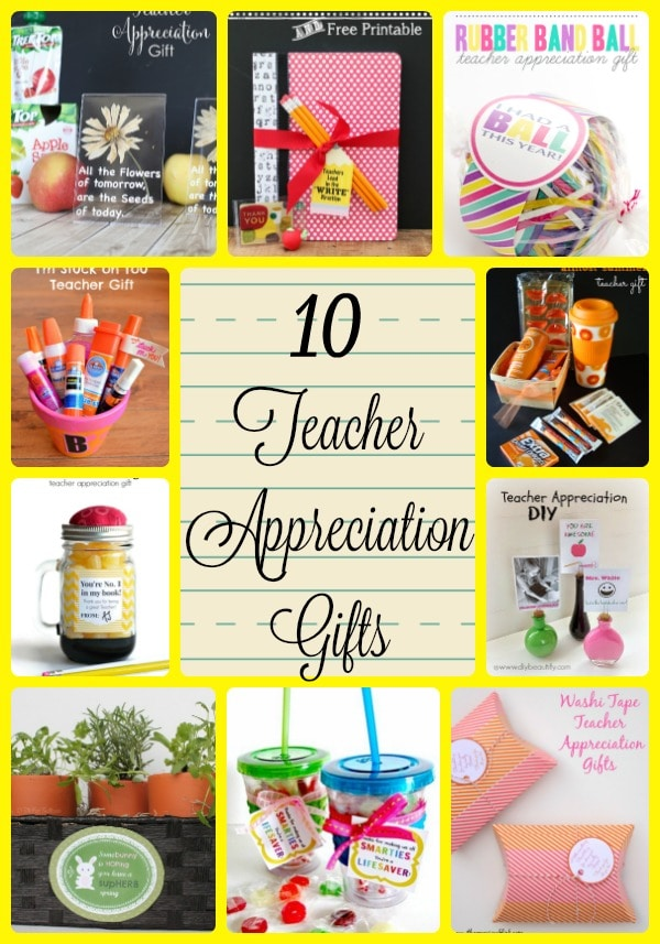 Teacher appreciation gifts to make for Thank you crafts for teachers
