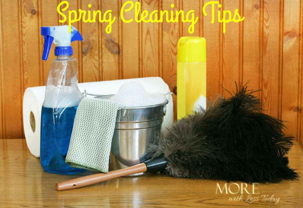 easy spring cleaning tips and hacks