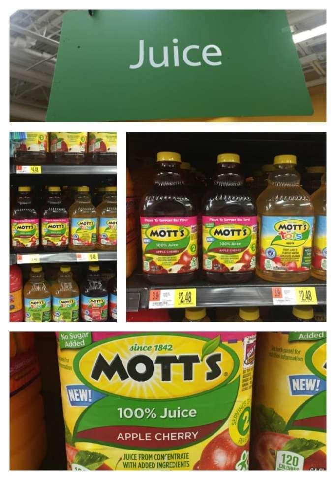 Mott's® juice at Walmart