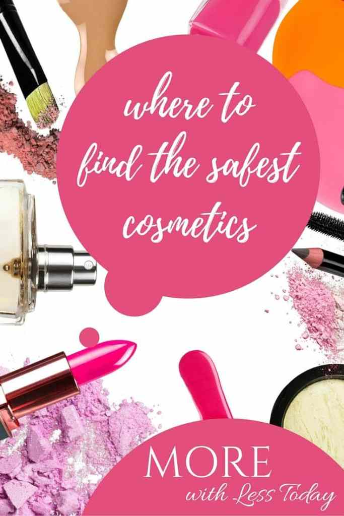If you want to know where to find the safest cosmetic products, we found a free database you can access by the type and brand of cosmetic or beauty product.