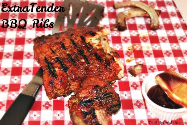 Extra Tender BBQ ribs recipe