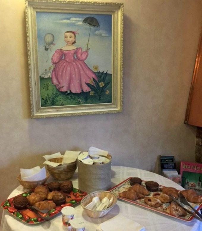 breakfast at the hofsas house