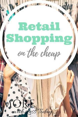 Here are today's retail shopping coupons for our favorite stores. Get coupons and sales for this weekend. Save money shopping with clothing coupons.