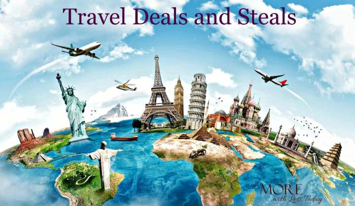 Are you looking for top travel deals and steals for air, hotel, car rental and vacation packages for a summer getaway? Check out our awesome list of deals.