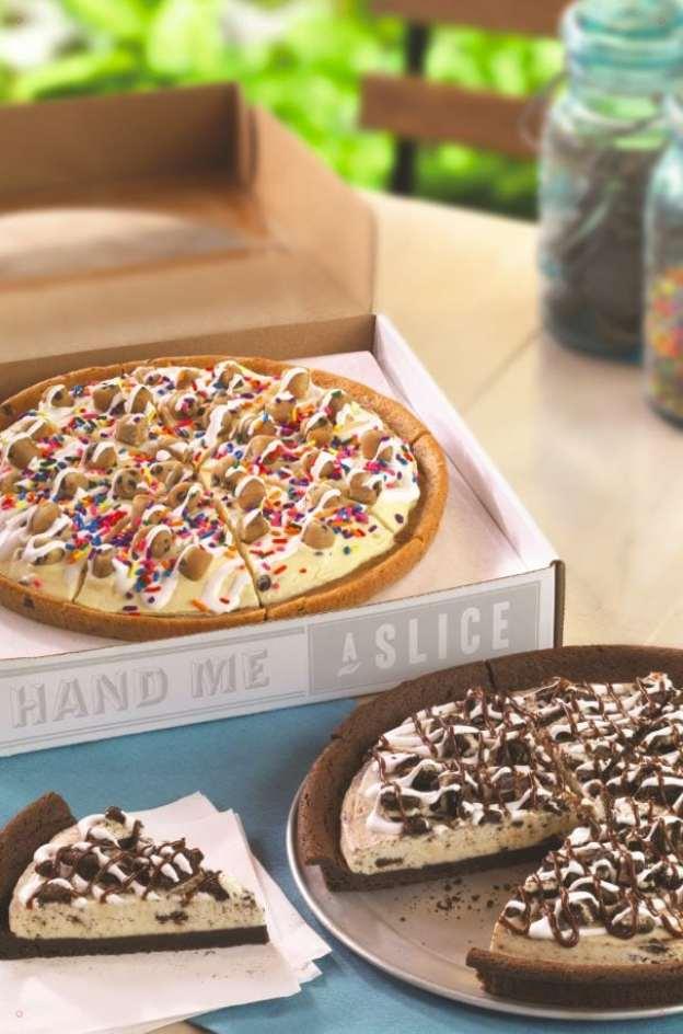 Polar Pizza at Baskin-Robbins