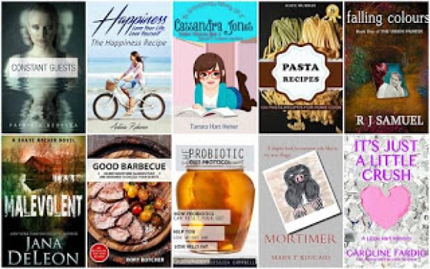 10 Free Kindle Books 8-18-16