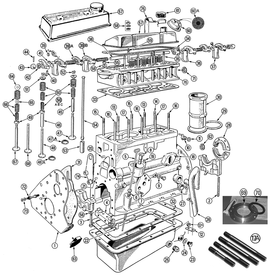 performance 4 3 engine diagram