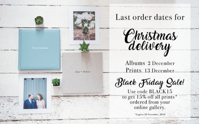 Last dates for Christmas delivery