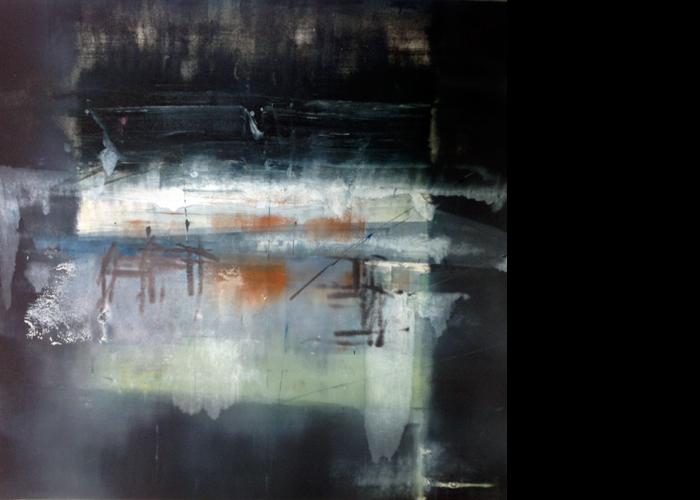 'Reflect', monoprint, 60 x 60 cm, £950