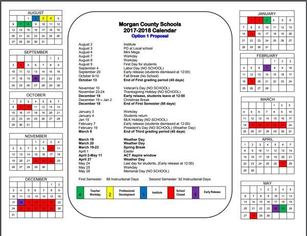 Falkville High School / Calendar