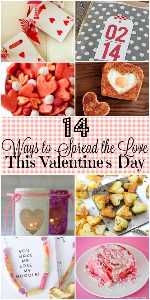Looking for way to spread the love to your favorite people this Valentine's Day? Check out these 14 awesome ideas!