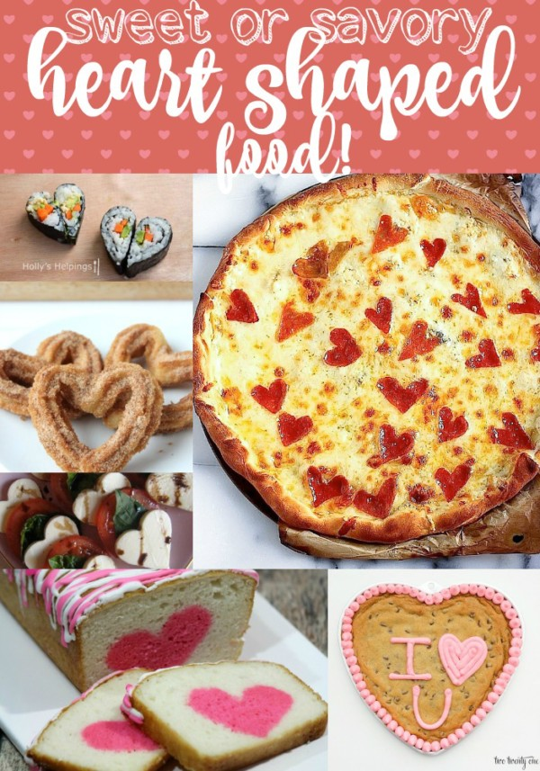 Heart shaped food is a great way to bring a little bit of love into every day! While each of these heart shaped foods are perfect for Valentine's Day, don't limit it to just that! Try them on a regular Tuesday and see how much more fun it makes an ordinary day.