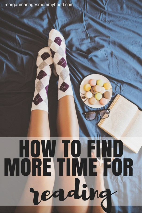 HOW TO FIND MORE TIME FOR READING