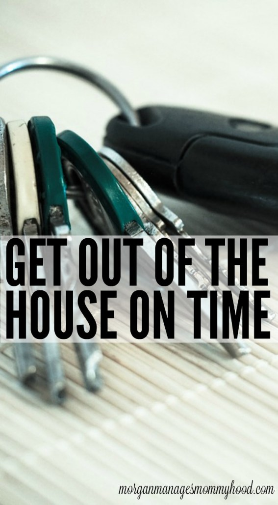 Having trouble getting places on time? You need to check out these tips for how to get out of the house on time!