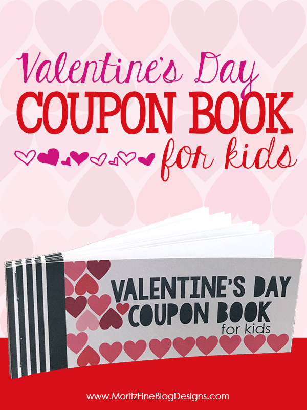 Valentine\u0027s Day Coupon Book for Kids Free Printable