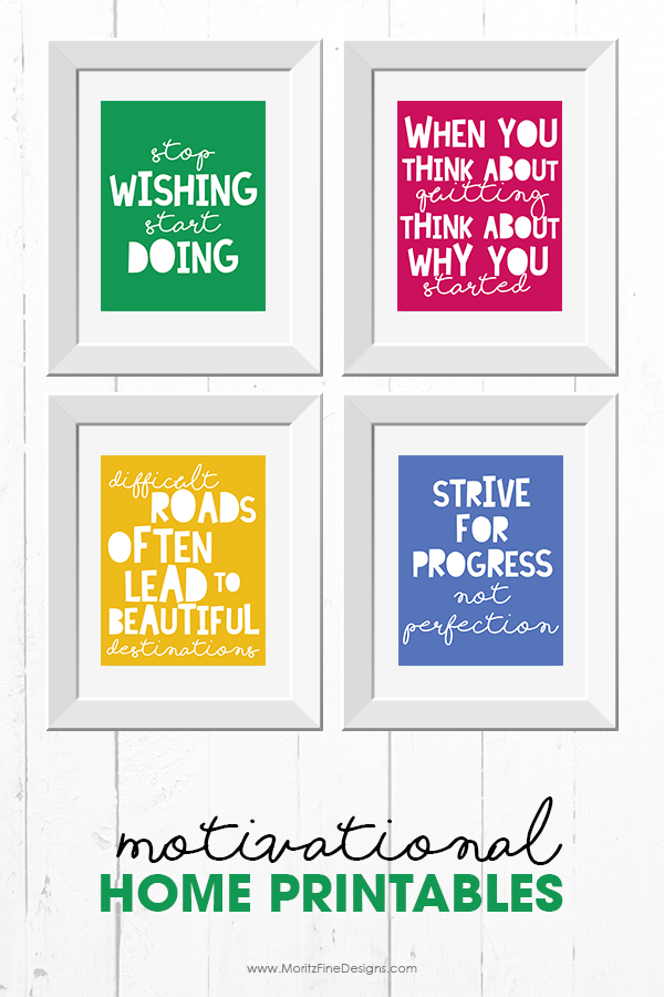 Motivational Quote Printables Free Printable Included