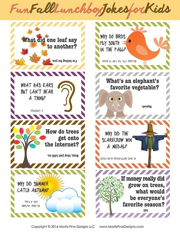 Lunch Box Jokes Printable Pack Moritz Fine Designs