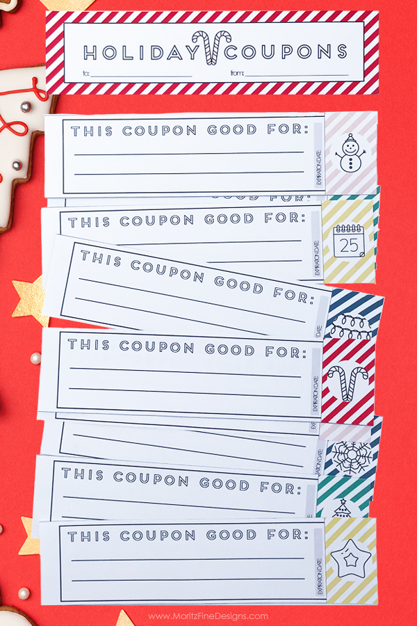 10 Affordable Stocking Stuffer ideas + Free Printable Coupon Book
