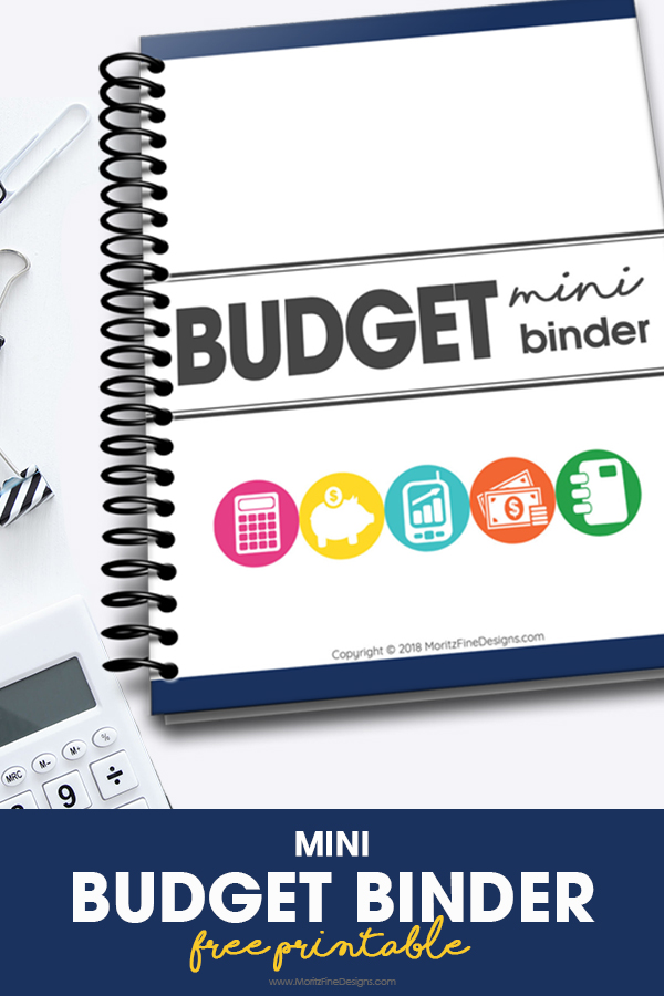 Mini Budget Binder Free Printable Download